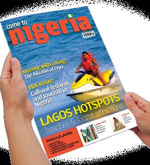 CometoNigeria magazine