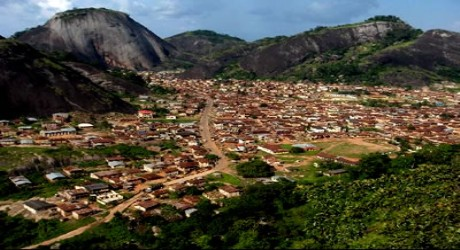 Idanre hills are located in the ancient town of Idanre, Ondo State