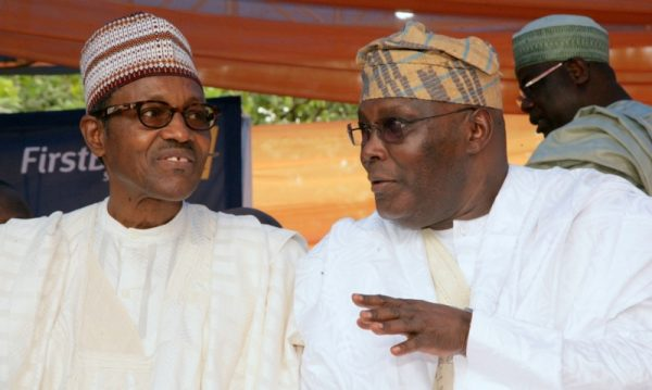 Atiku with Buhari
