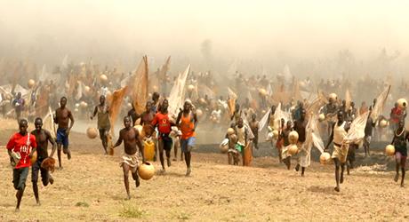 The annual Arugugun Fishing Festival - Kebbi State