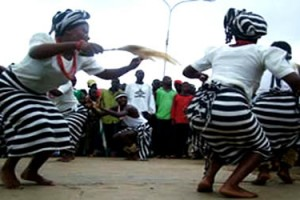 Swange traditional dancers, Benue State