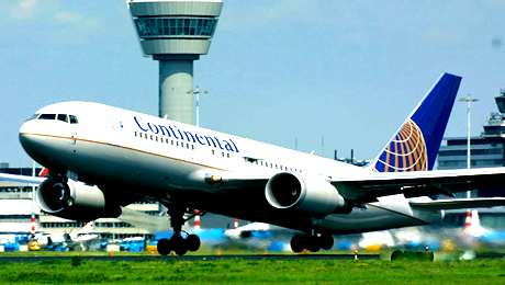 Continental Airlines will fly from Texas to Nigeria in 2011