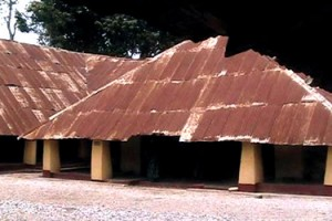 Deji of Akure's ancient Palace!