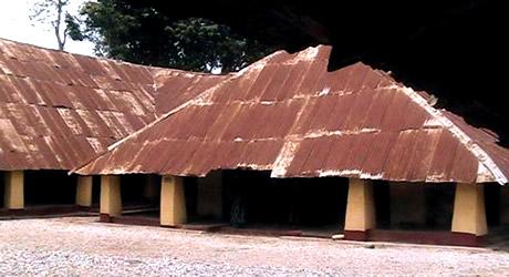 Deji of Akure's ancient Palace!