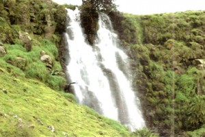 Waterfall in Nguroje, Mambilla