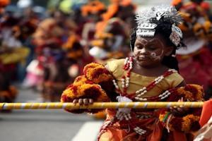 National Pride: Dancers at Calabar Carnival (image by Kunle Ogunfuyi)