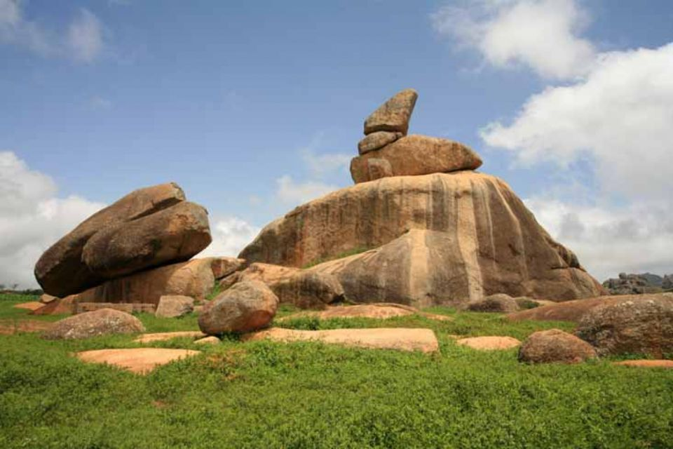 Riyom Rock Formation in Plateau State