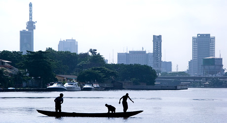 Lagos and central business district