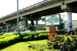 Over-head bridge on Oyo State secretariat road, Ibadan