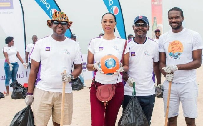 Photo of COPA Lagos Encourages People with Beach Cleanliness